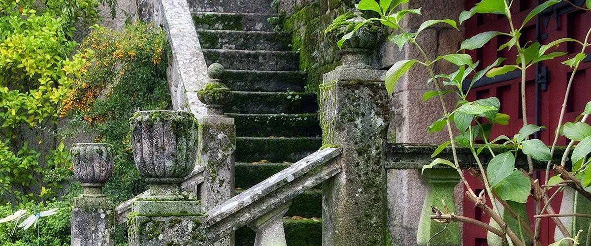 Escalera del patio